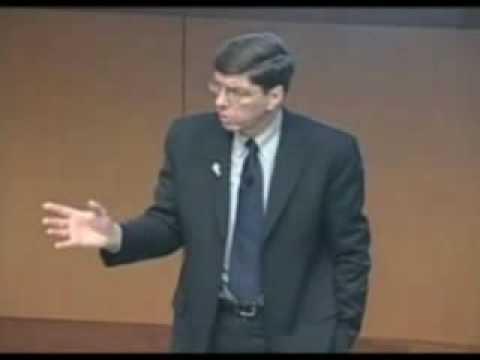 Innovation Summit '09, Clayton Christensen (Clip #4, TechPoint)