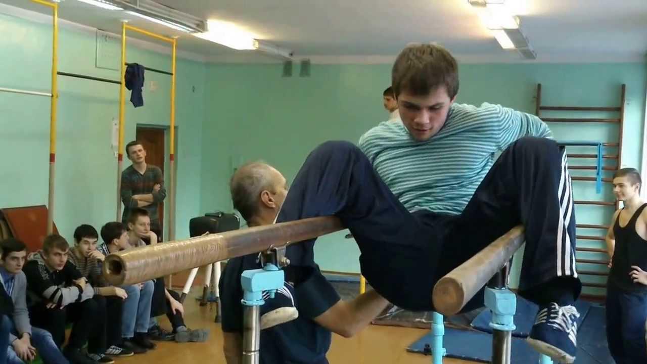 Видео гимнастика в голом виде