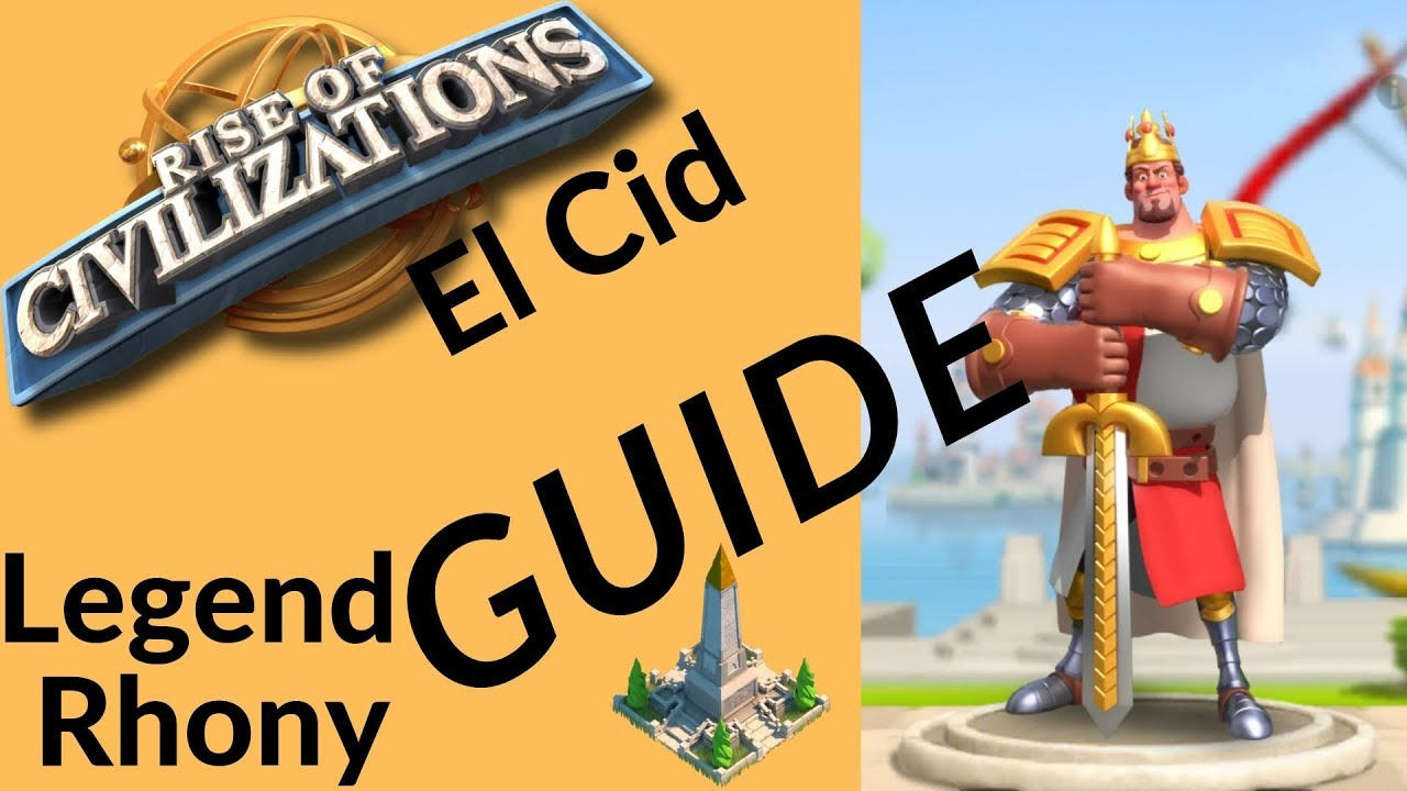 Rise of Civilizations - Commander spotlight El Cid - tip's and advice's