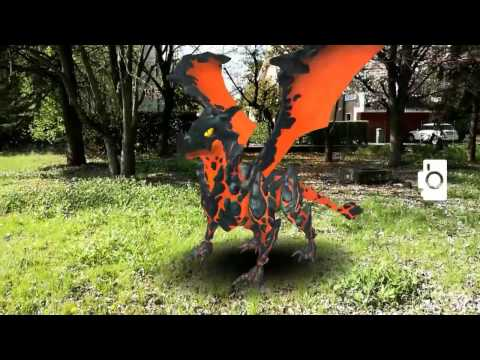 Augmented Reality Dragon
