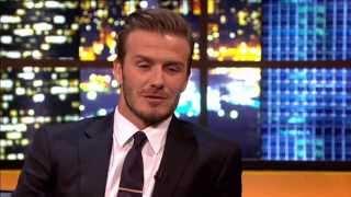 David Beckham has started talking posher