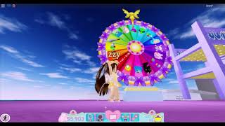 Spinning the wheel for 10 day| Royale High| Roblox