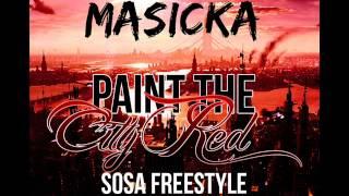 Masicka - Paint The City Red (Sosa Freestyle - Blak Ryno Diss) [Nov 2012] [TJ Records]