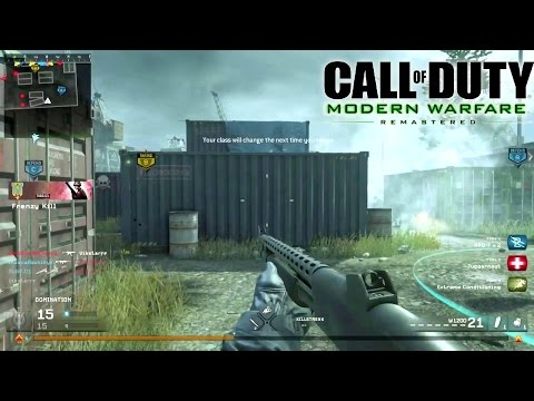 SHOTGUN + SHIPMENT = WIN! - CoD 4 Modern Warfare Remastered