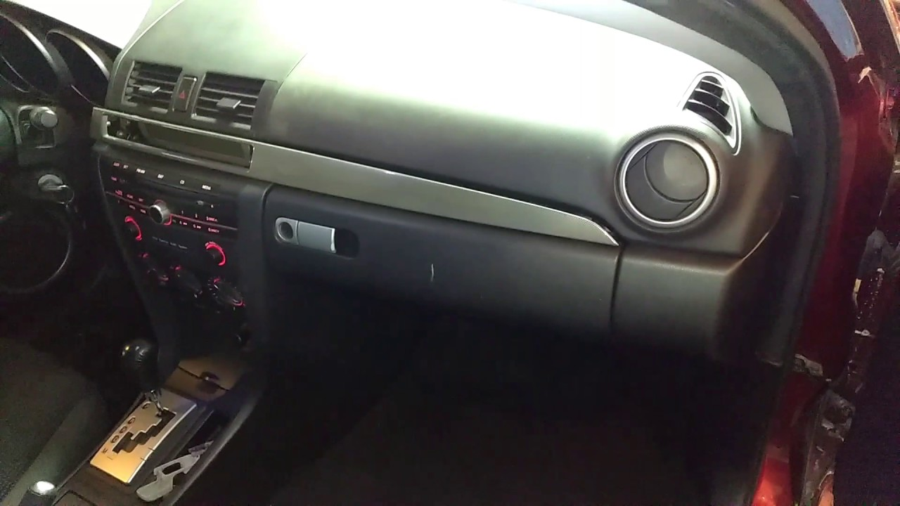 Fuse Box In Mazda 3 : To mazda hatchback fuse box inside youtube