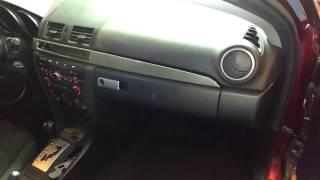 2003 to 2008 mazda 3 hatchback fuse box inside - youtube  youtube