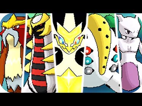 Pokemon Ultra Sun & Ultra Moon - All Legendary Pokémon Battles (1080p60)