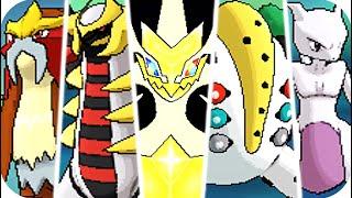 Pokemon Ultra Sun & Ulтra Moon - All Legendary Pokémon Battles (1080p60)