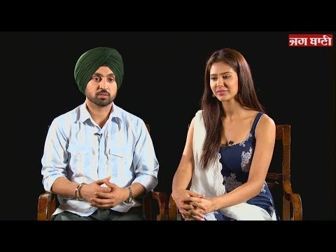 Exclusive interview with diljit dosanjh and sonam bajwa - Punjab 1984
