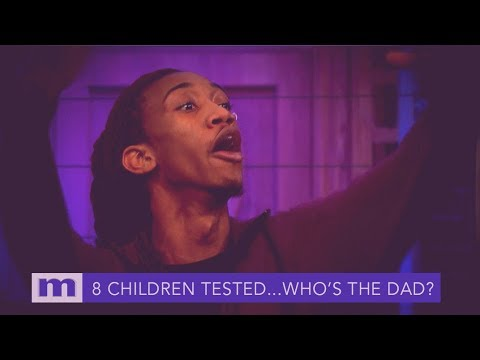 8 Children DNA tested...Which man is the father? Friday on Maury!   The Maury Show