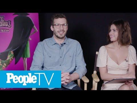 Kids Interview Selena Gomez & Andy Samberg, The Stars Of 'Hotel Transylvania 3'   PeopleTV
