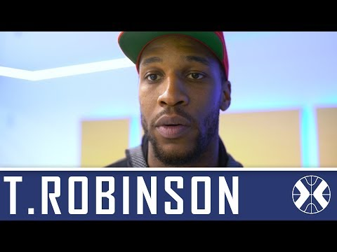 Thomas Robinson about his arrival at Khimki by khimkibasketTV