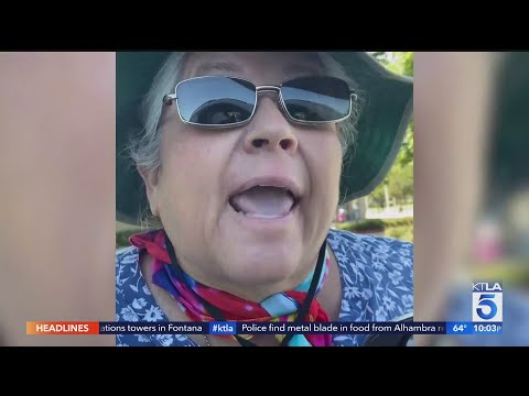 Scissors-Wielding Woman Hurls Racist Insults At Park Worker Over COVID-19 Restrictions from YouTube · Duration:  2 minutes 9 seconds