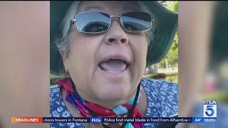 Woman appears in 2nd Torrance racist rant video