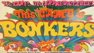 Ep. 110: Bonkers! Board Game Review (Parker Brothers 1978)
