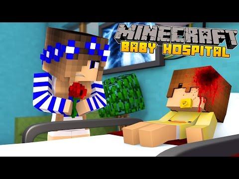 Minecraft Baby Hospital-BABY DUCK GETS SICK!!