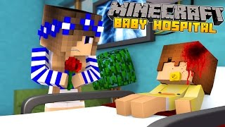 Minecraft Baby Hospital-BABY DUCK GETS SICK!!