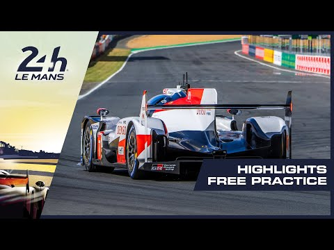 2019-24-heures-du-mans---highlights-free-practice-session