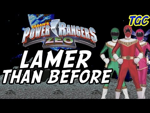 POWER RANGERS ZEO VIDEO GAMES: Lamer Than Before | GEEK CRITIQUE