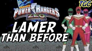 POWER RANGERS ZEO VIDEO GAMES: Lamer Than Before | GEEK CRITIQUE