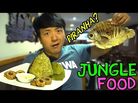 Eating JUNGLE FOOD: Traditional AMAZONIAN Dishes in Lima Peru