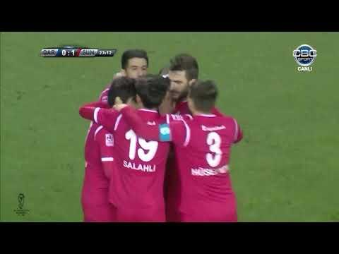 """Azərbaycan Kuboku 17/18, 1/4 final, ilk oyun, """"Qarabağ"""" 2-1 """"Sumqayıt"""""""