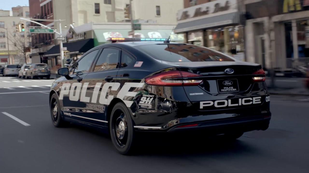 Ford Police Responder Hybrid Sedan - YouTube