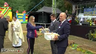 Gminno - powiatowe dożynki w Kochłowicach koło Byczyny - 26.08.2018.