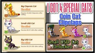 GOT MY 4TH SPECIAL CAT || SMALL USD CAT || COINCAT MILESTONE