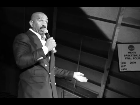 Steve Harvey's Motivational Speech To Kids At Villanova University : My Walk