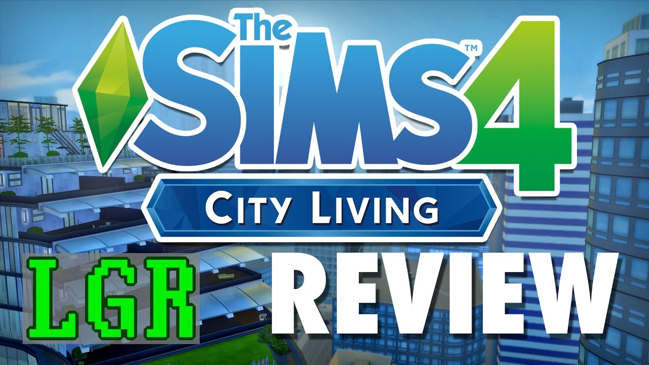 LGR   The Sims 4 City Living Review   YouTube