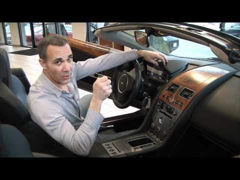 2005 Aston Martin DB9 Volante Video Review