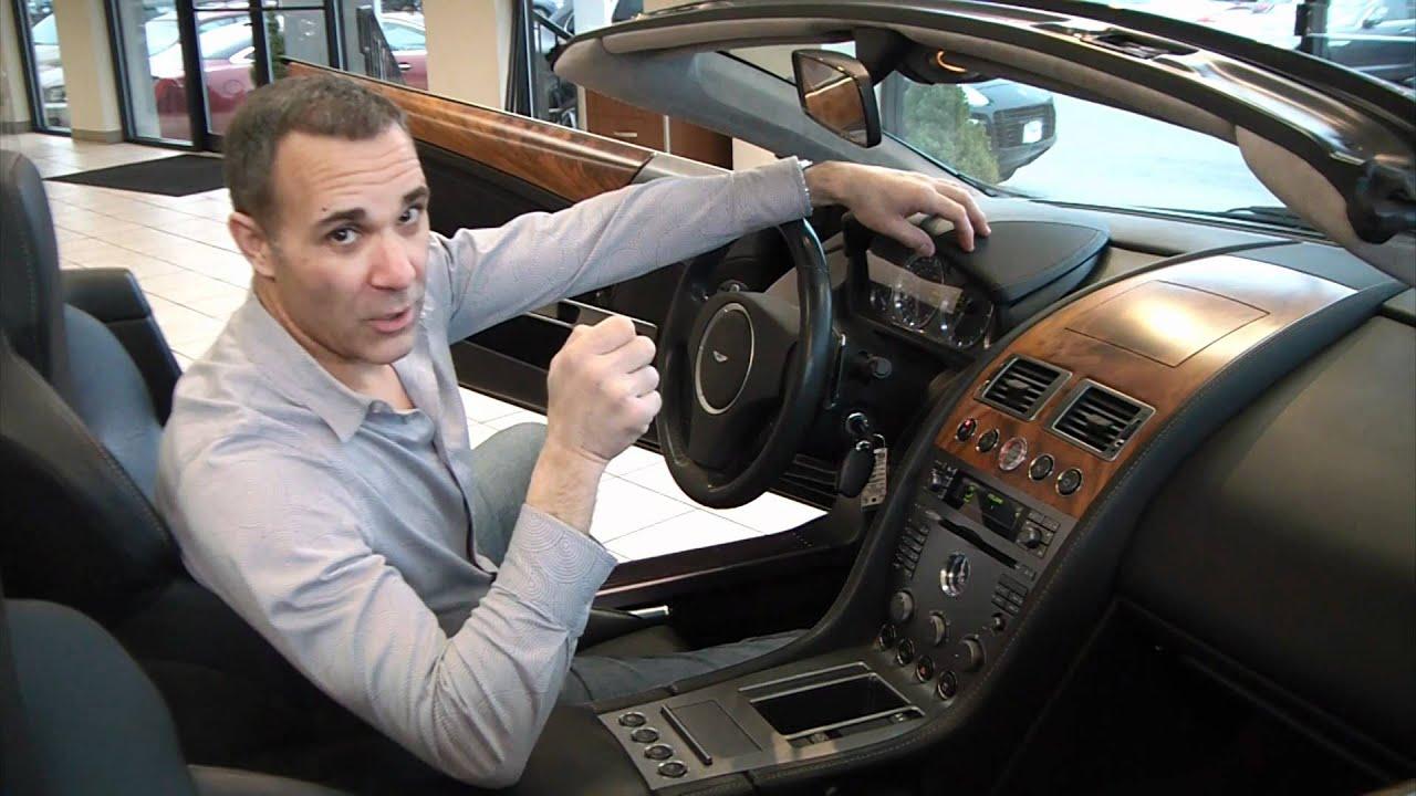Aston Martin DB Volante Video Review YouTube - Aston martin 2005 for sale