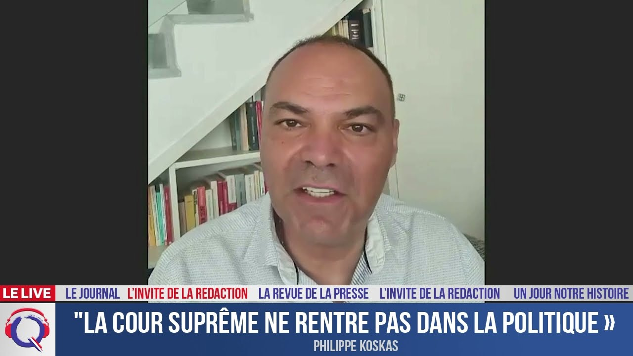 """""""La Cour suprême ne rentre pas dans la politique"""" - L'invité du 11 juillet 2021"""