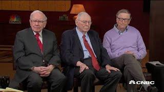 Bill Gates, Charlie Munger, Warren Buffett on the socialism versus capitalism debate
