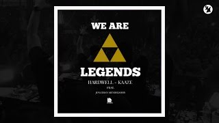 Hardwell KAAZE Ft Jonathan Mendelsohn We Are Legends Working Title