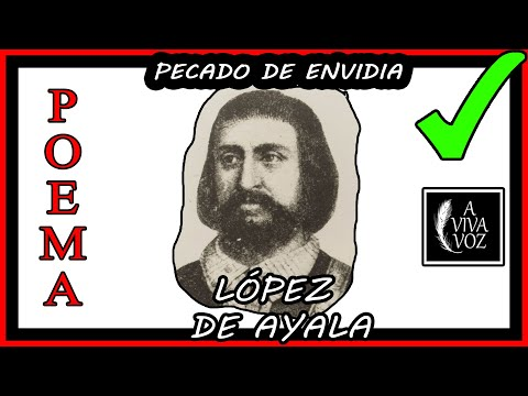 Pecado de envidia - Pedro Lopez de AYALA - Poesía MEDIEVAL  Poema sobre el pecado capital ENVIDIA