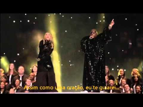 Like a Prayer  Madna  Super Bowl legendado PTBR