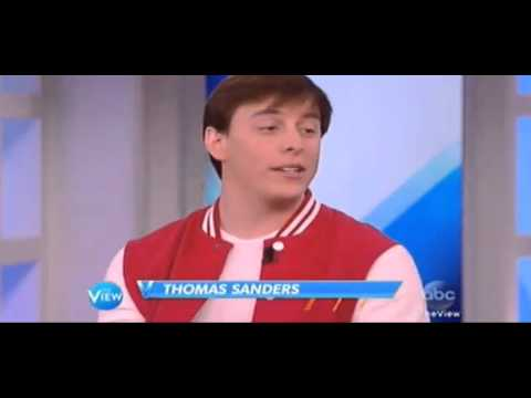 Thomas Sanders on The View