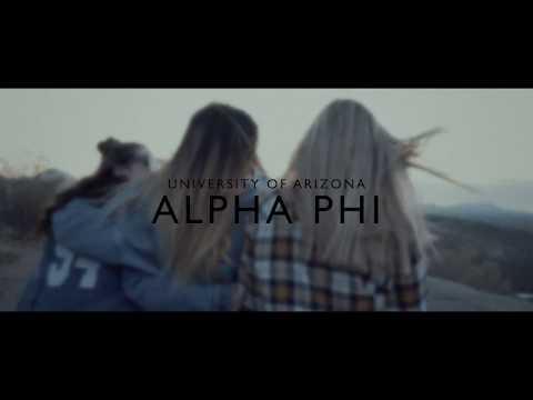 University of Arizona Alpha Phi Recruitment Video 2018