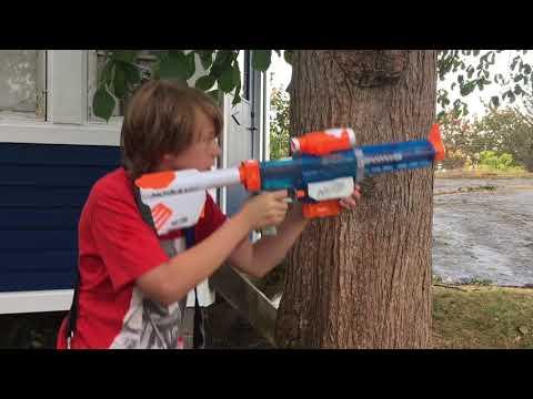 Nerf War sniper vs sniper (short film)