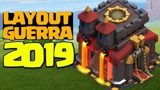NOVOS FORMATOS LAYOUT CV10 GUERRA 2019 CLASH OF CLANS