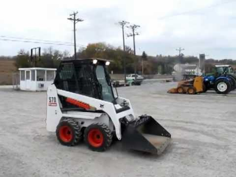 Bobcat S70 Skid Steer Loader Bobby the Landscaper - YouTube