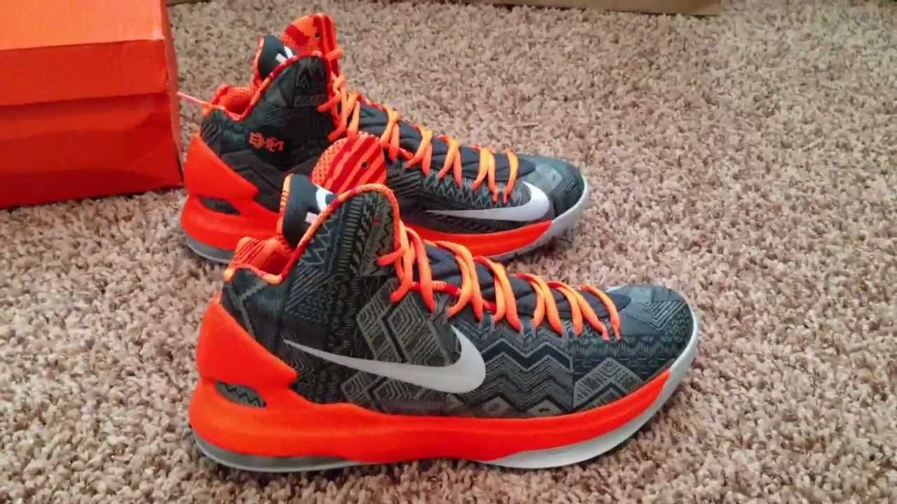 buy online aad2a a57dd Nike KD V BHM (Unboxing)   (Review) (HD) - YouTube