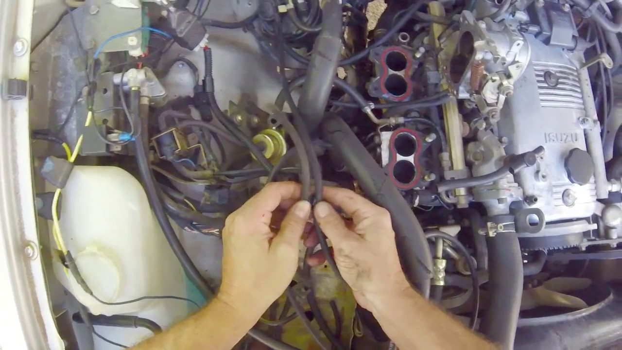 Isuzu Vacuum Line Layout Replacement Youtube