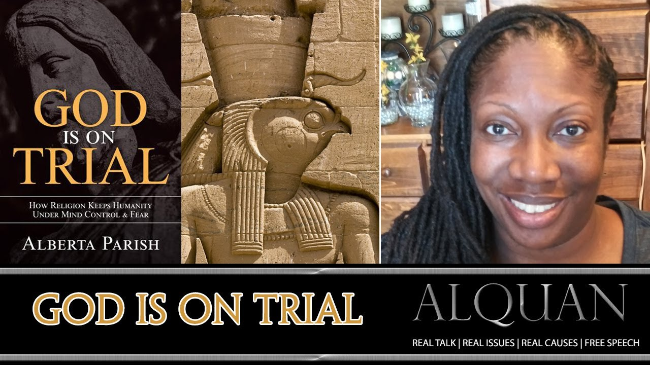 """God is on Trial""  With guest author - Alberta Parish (live)!"