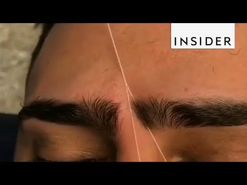 Download Youtube: Eyebrow Artist Tames Unruly Brows