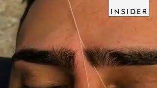 Eyebrow Artist Tames Unruly Brows