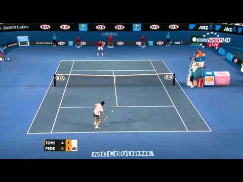 Baixar Australian Open 2012 R4 - Federer vs Tomic HD 1080p highlights