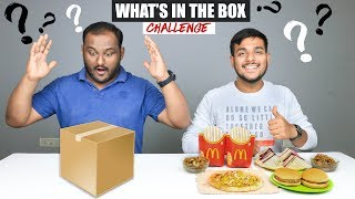 WHAT'S IN THE BOX CHALLENGE | Food Eating Competition | Food Challenge
